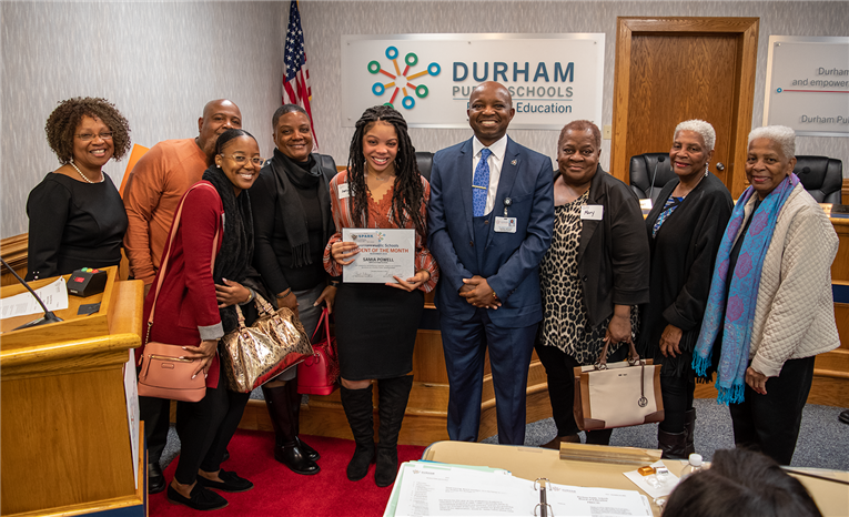 November 2019 Student of the Month | Samia Powell | New Tech High School