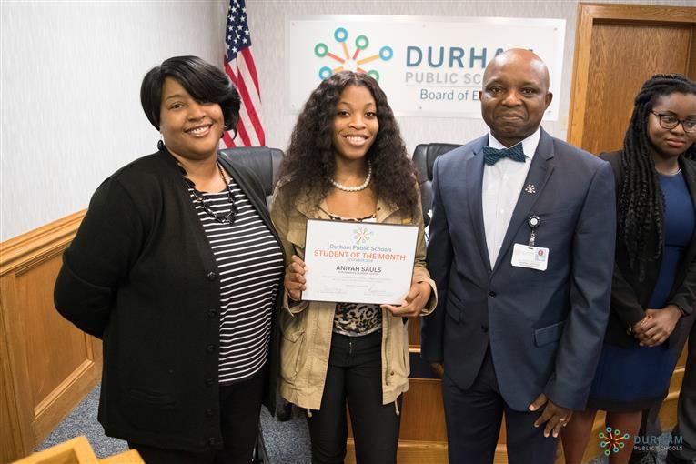 DPS December Student of the Month: Aniyah Sauls