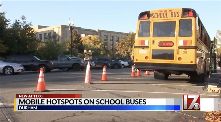 DPS explores giving internet access to students while on buses