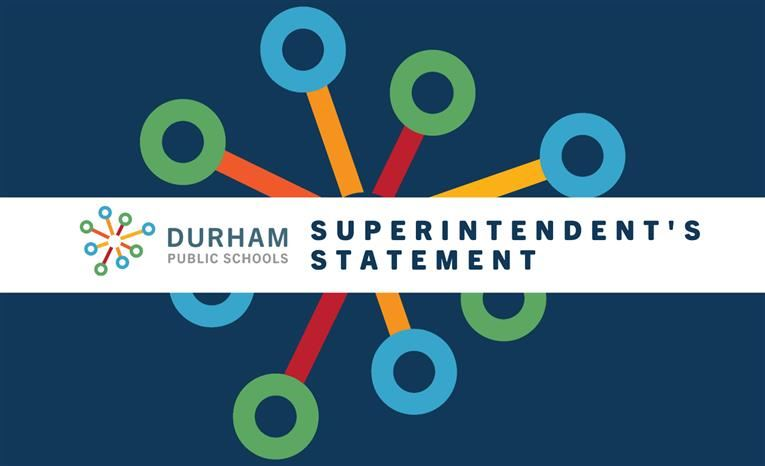 Superintendent's Statement