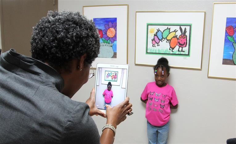 Superintendent's Art Reception