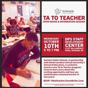 Ta To Teacher Open House Information Session