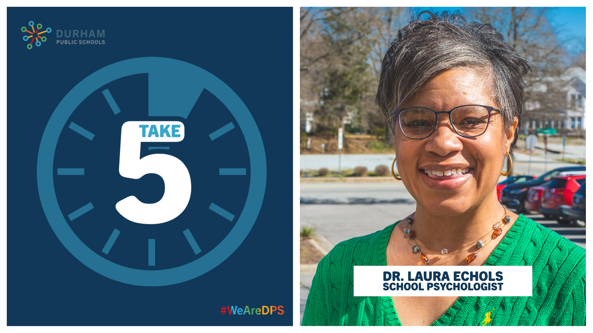 TAKE 5 with EC | Dr. Laura Echols, School Psychologist