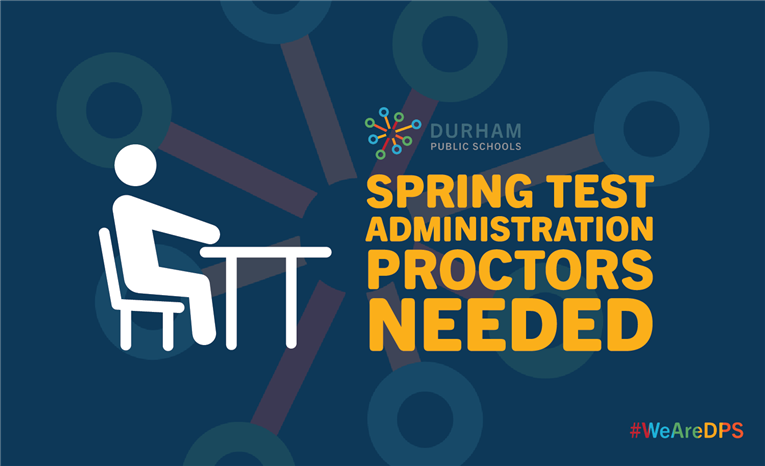 Volunteer Test Proctors Needed for Spring Testing
