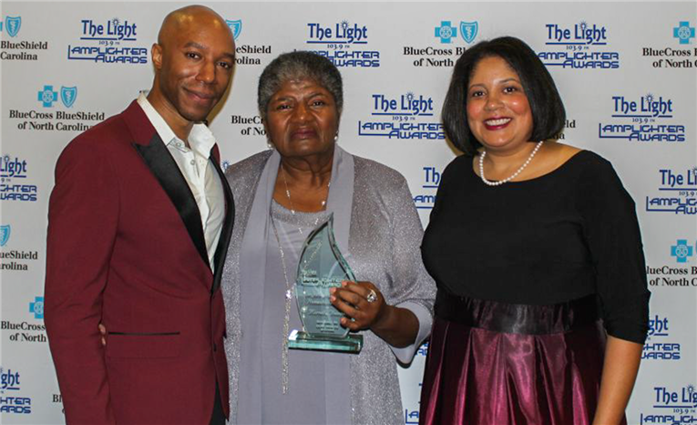 CHAMPS Grant Recipient Receives Lamplighter Award for Service