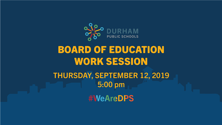 WATCH | Board of Education Work Session | 5 pm