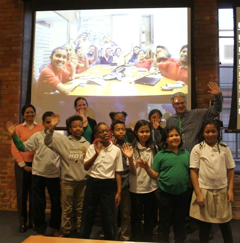 Y.E. Smith AIG Students Participate in Cultural Exchange