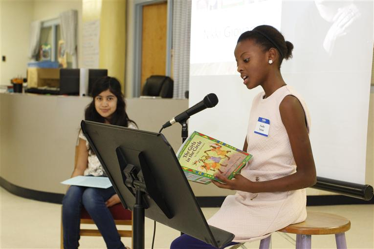 Bethesda Elementary hosts a Celebration of African American Literature