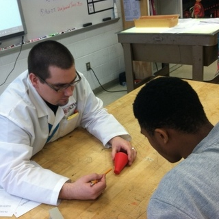 ADAM DAVIDSON OF RIVERSIDE HIGH SELECTED 2018 STEM EDUCATOR OF THE YEAR