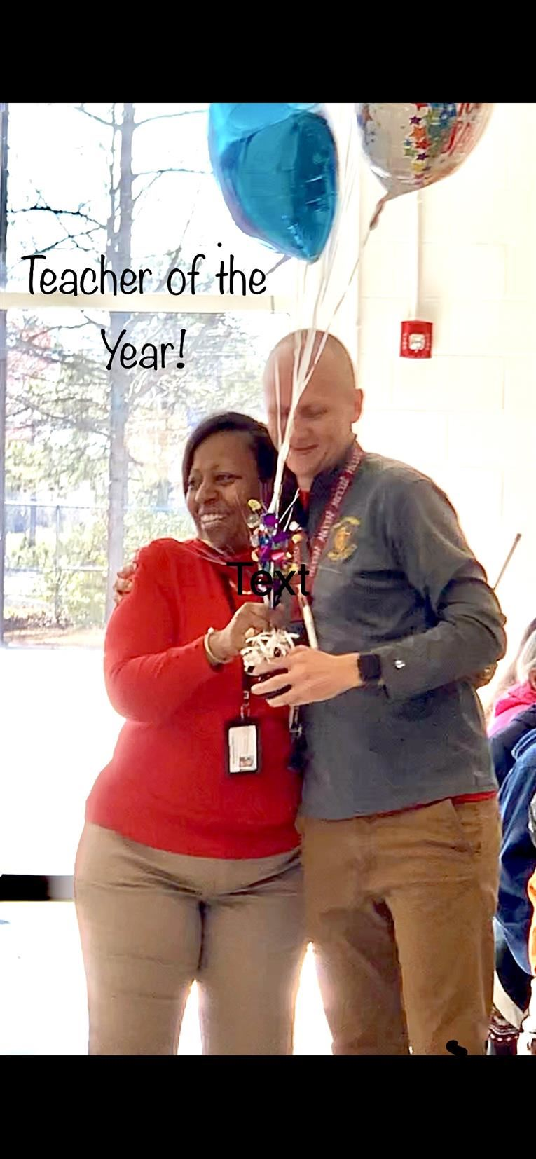 Mr. Barringer Named 2019 LGMS Teacher of the Year