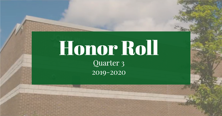 Honor Roll - Quarter 3