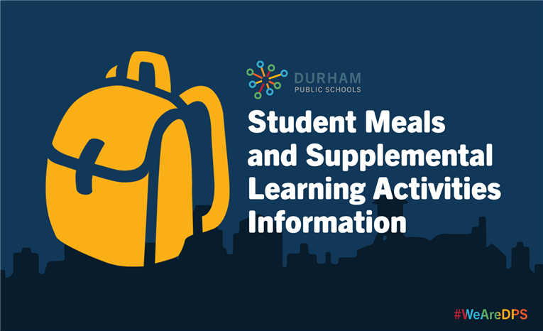 SUPPLEMENTAL LEARNING, MEALS TO BEGIN MARCH 23