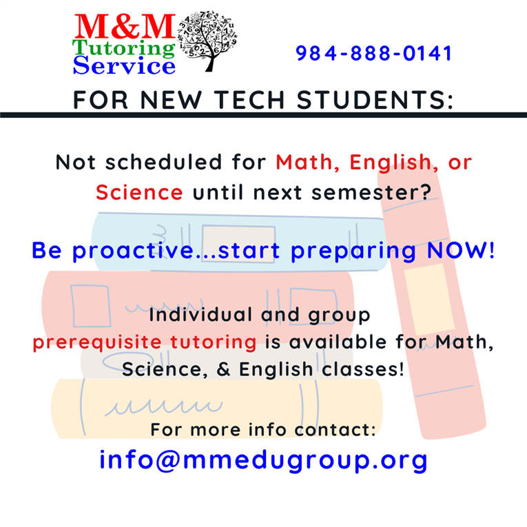 M&M Virtual Tutoring is Now Available