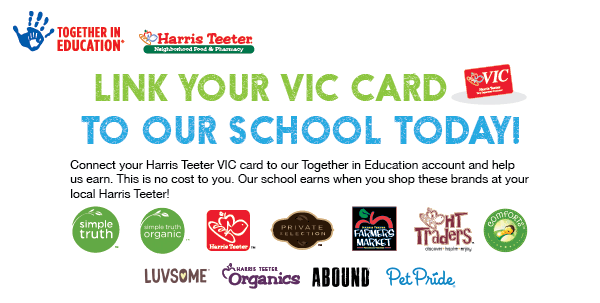 Shop at Harris Teeter, Support MCHS