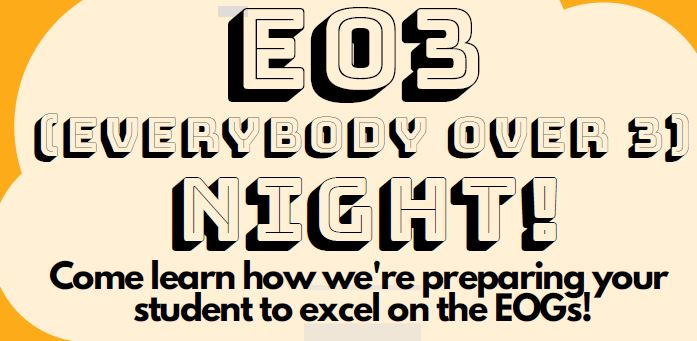 Attend EO3 Night on 12/6/2018