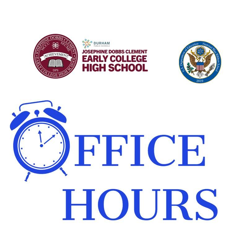 ECHS Office Hours