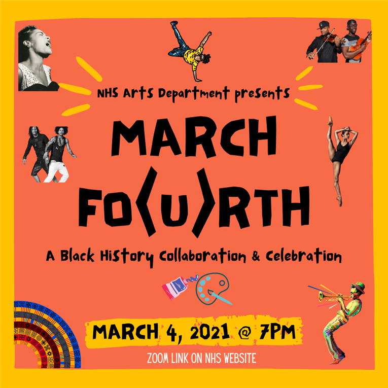 CELEBRATE BLACK HISTORY AND CULTURE WITH THE NHS ARTS DEPARTMENT