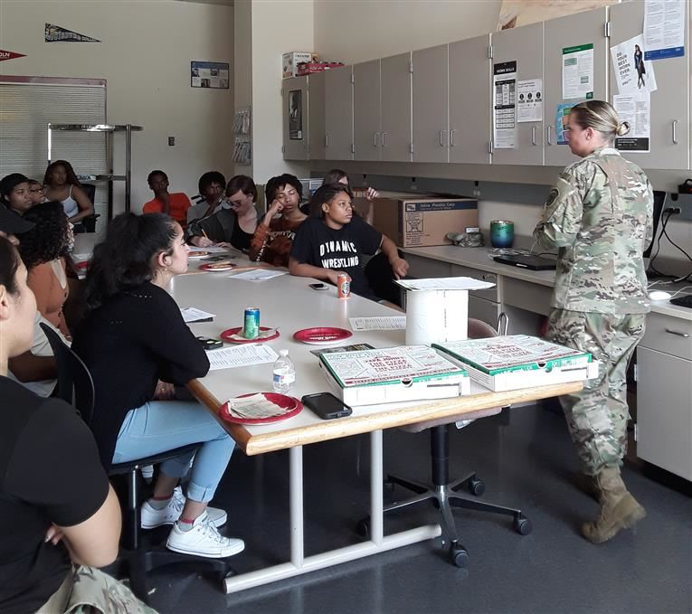 US Army visits SSES