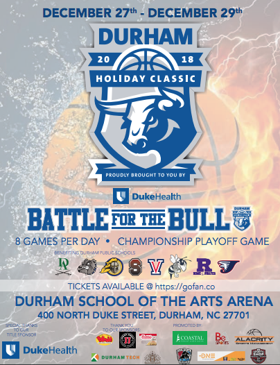 Durham Holiday Classic Basketball Tournament!
