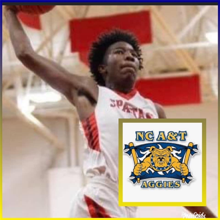 Ahmad Hamilton commits to A&T