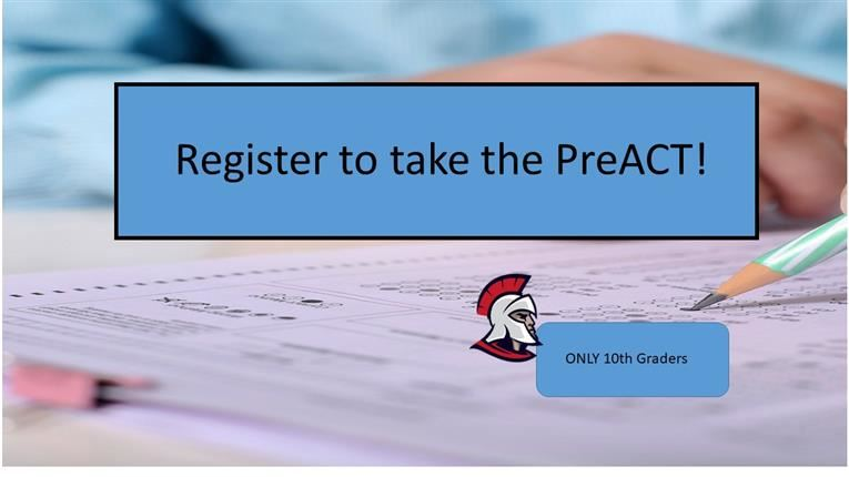 Register for PreACT!