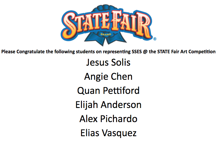 SSRS State Fair Artists
