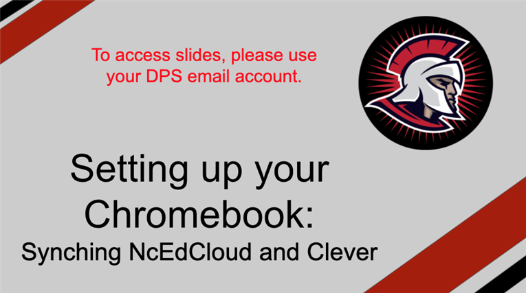 Set up your chromebook