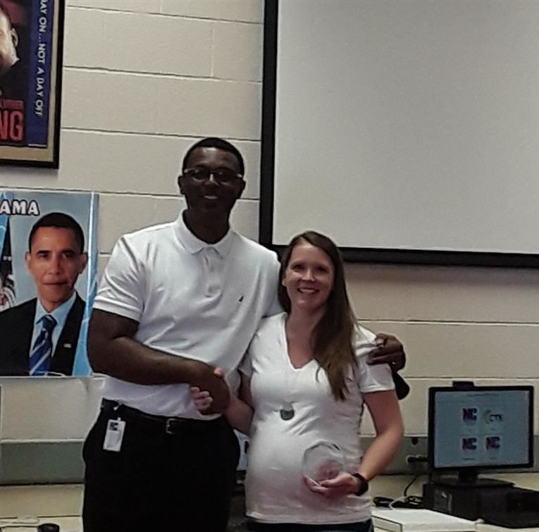 Ms. Cottrell is Teacher of the month for June!