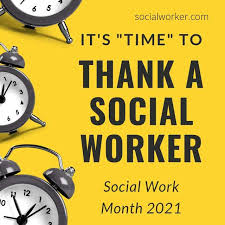 March is Social Worker's Month