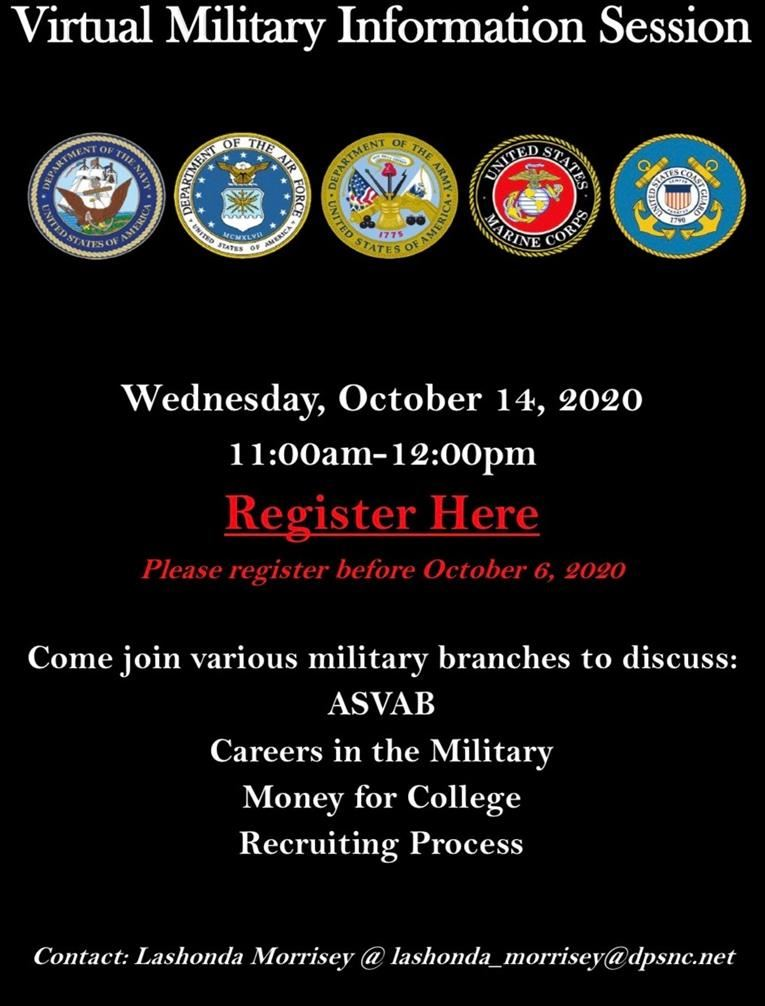 Virtual Military Information Session