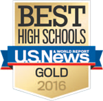 Best High Schools US News Gold 2016