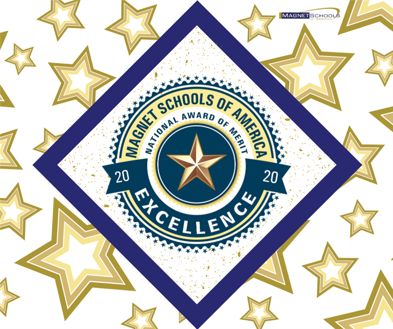 "Burton named a ""Top 20"" National Magnet School of Excellence by Magnet Schools of America"