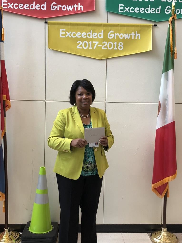 Dr. Kimberly Ferrell Named 2019 Principal of the Year Finalists
