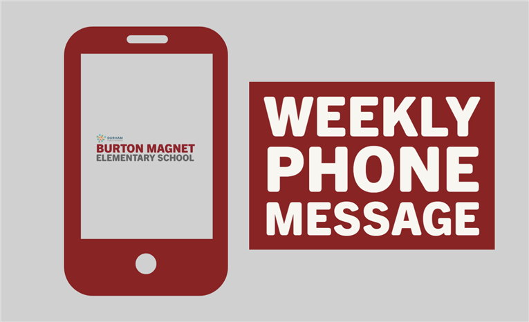 Weekly Phone Message