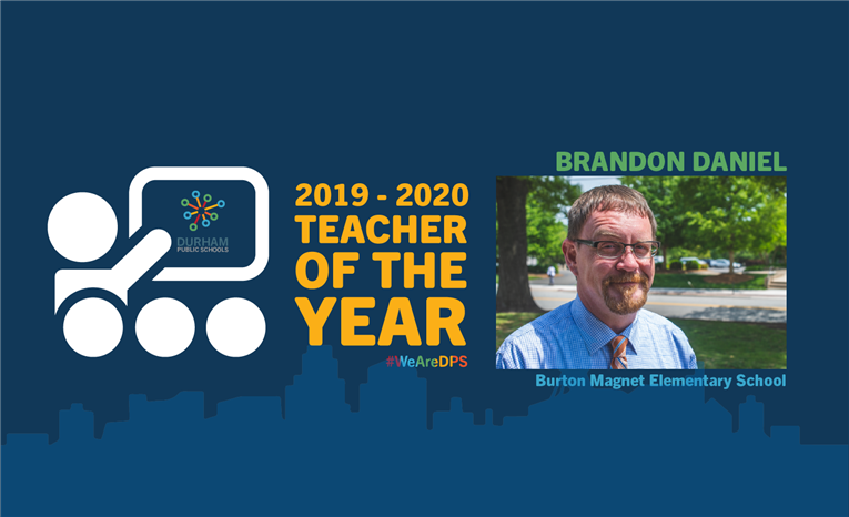 2019-2020 DPS TEACHER OF THE YEAR: BRANDON DANIEL