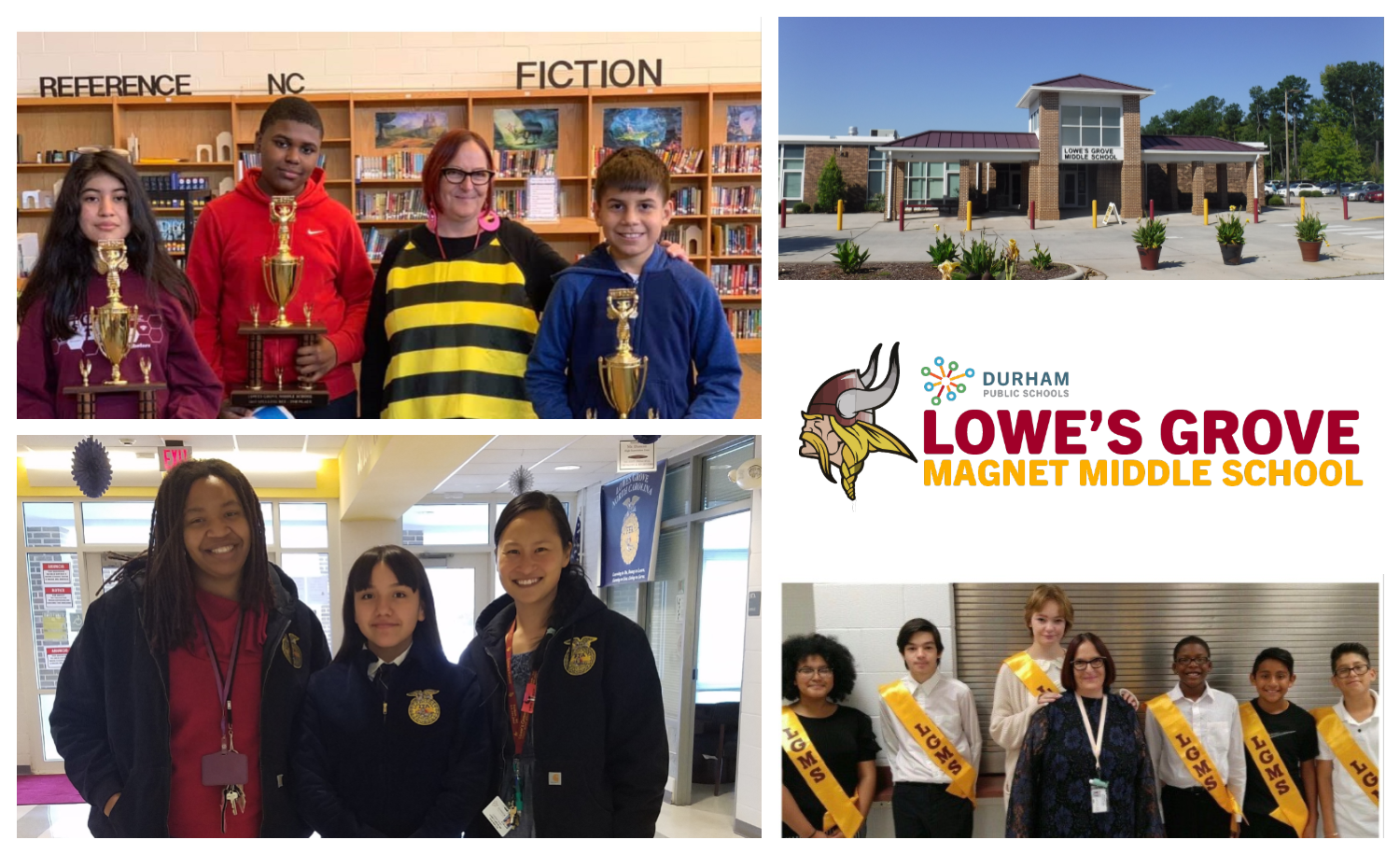 Lowe's Grove Middle / Homepage